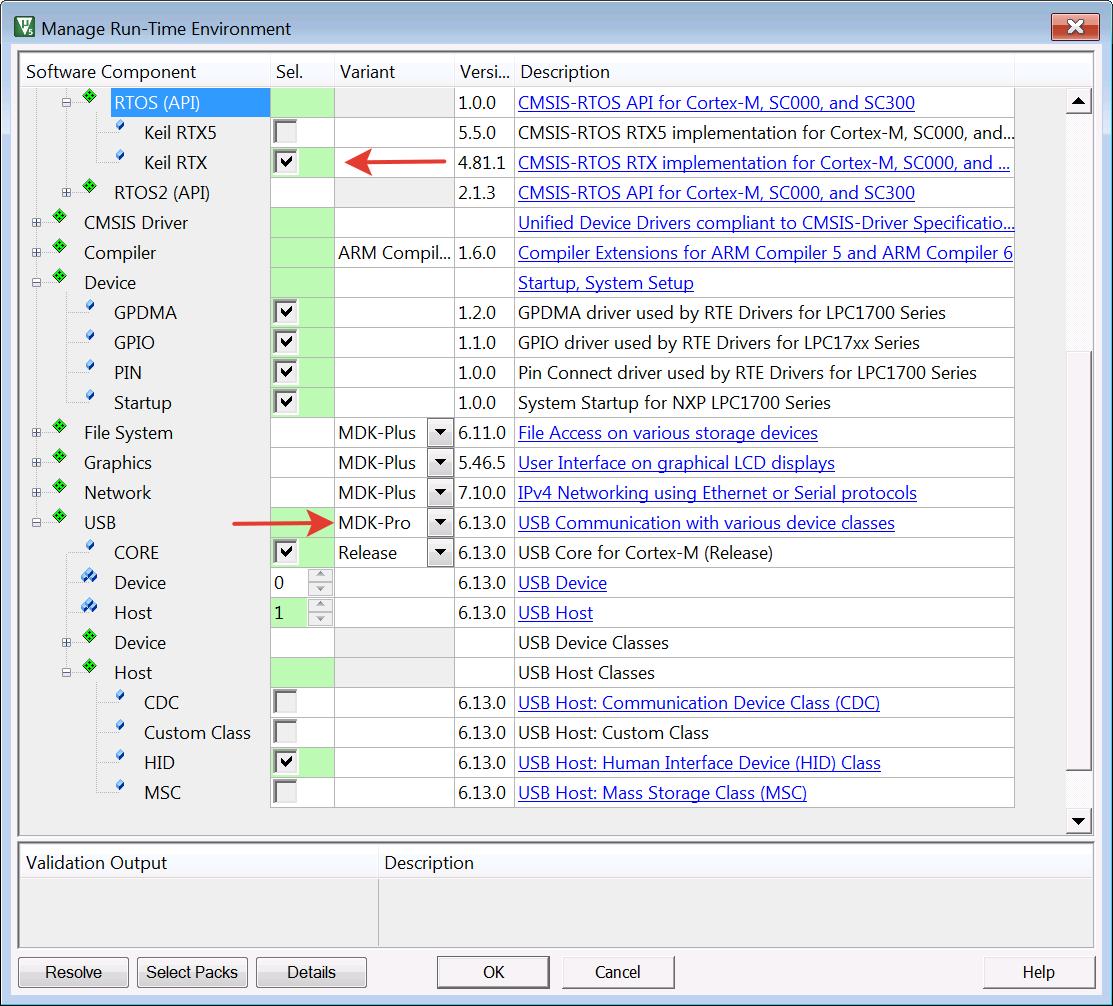 Создаем под Embedded Studio на LPC1768 embUSB-Host